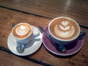 Pilgrim Espresso Art